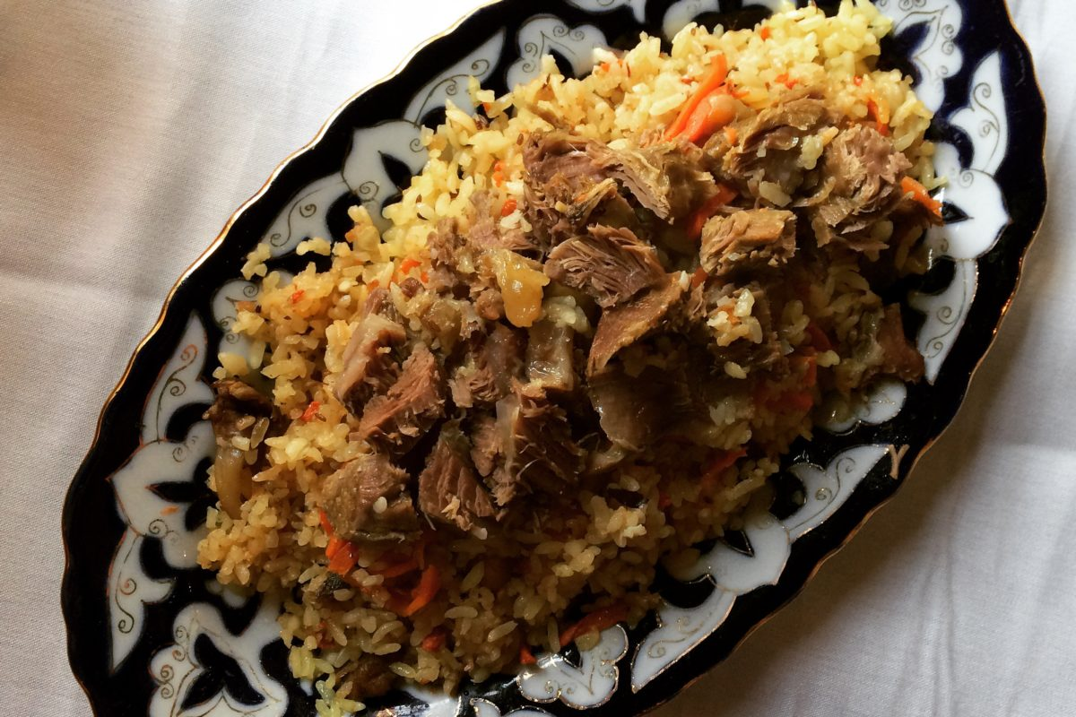My Kyrgyz, Uzbek, and Tajik Kitchen: Plov