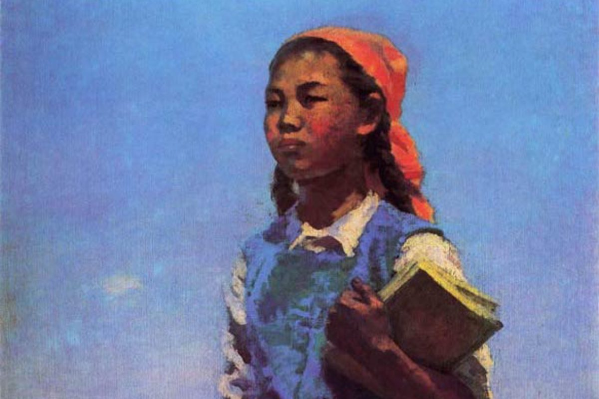 Daughter of Soviet Kirghizia: A Socialist Realist Masterpiece